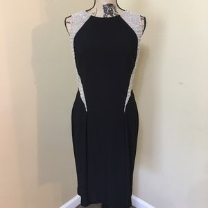 Sexy beaded formal dress